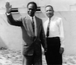 Kwame Nkrumah and Martin Luther King, Jr.