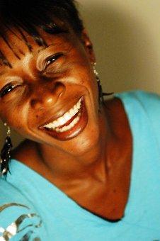 Leila Djansi smiling