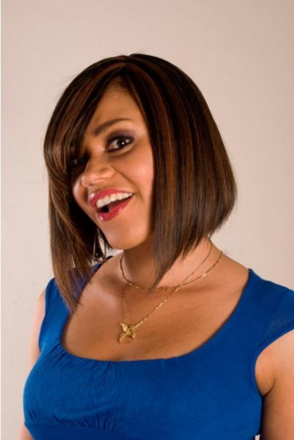 Nadia Buari smiling