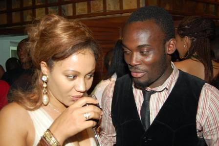 Nadia Buari with Michael Essien