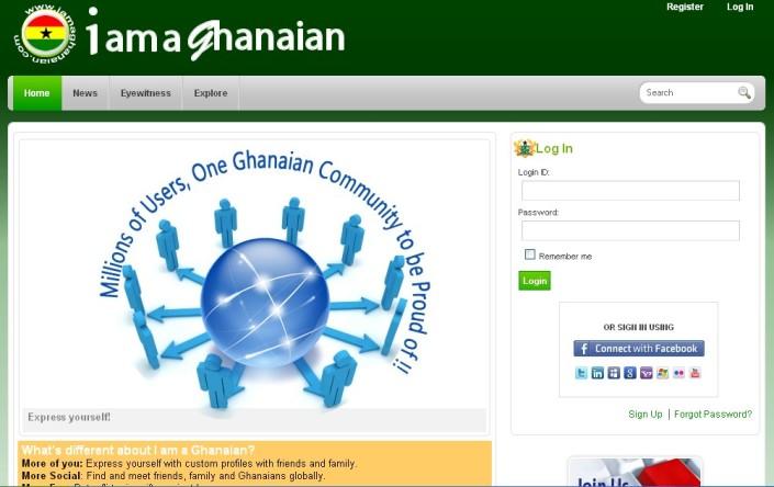 I am a Ghanaian - One of Ghana's Newest Social Network