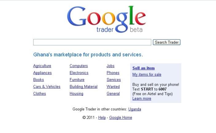 Google Trader Ghana