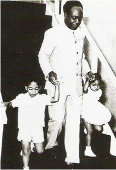 Dr Kwame Nkrumah and Samia