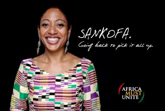 Samia Nkrumah sankofa