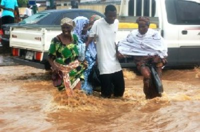 Greater Accra engulfed in Floods