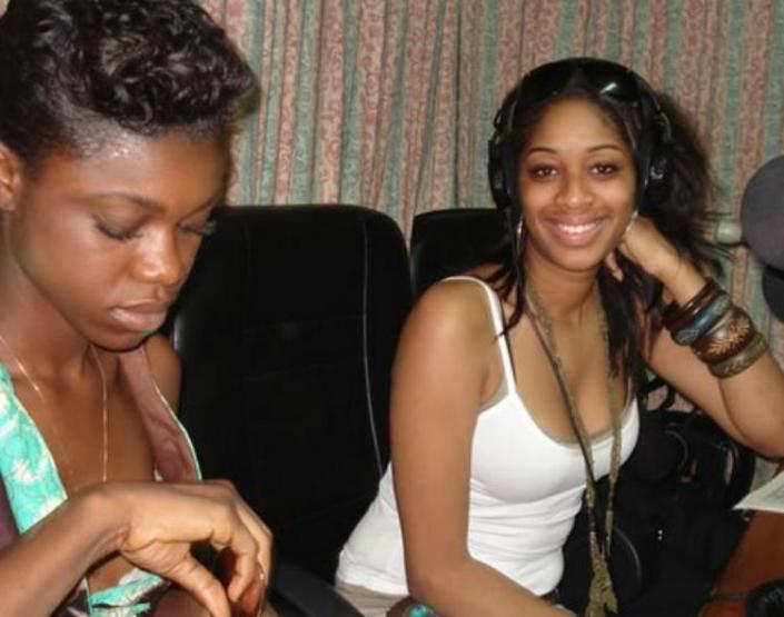 Becca and Keisha White in Ghana