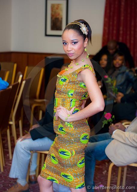 Deborah Vanessa Owusu-Bonsu modelling 2009