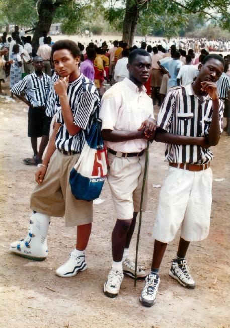 Emmanuel Owusu-Bonsu (Spooky, Kofi Danso, & Koo Seke...Adisco Park during inter-co.)
