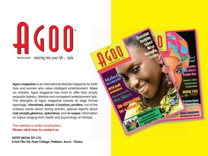 Agoo magazine Ghana
