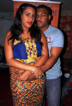 Juliet Ibrahim and husband Kwadjo Safo
